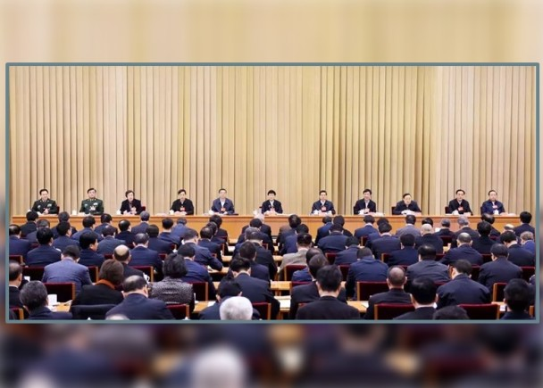 郭声琨为习独裁代言!中国法制彻底走歪