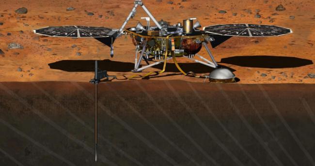 NASA今春送机器人登陆火星