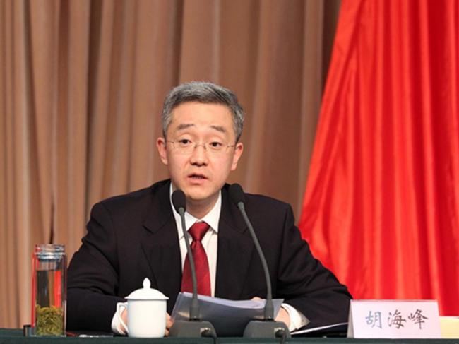 胡锦涛之子胡海峰当选全国人大代表