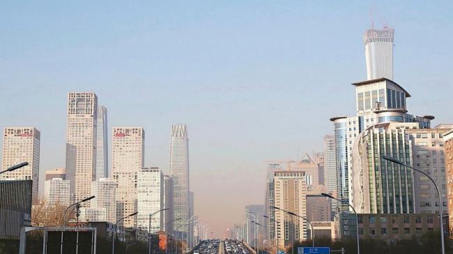 北京天空竟在变蓝!PM2.5浓度减了35%