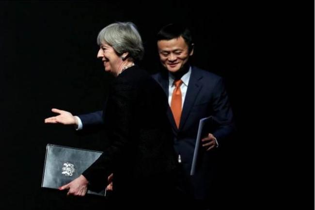 马云告诉英首相:要引进这两个玩意儿