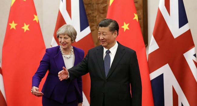 """美国劝阻英国  远离习近平""""丝绸之路"""""""