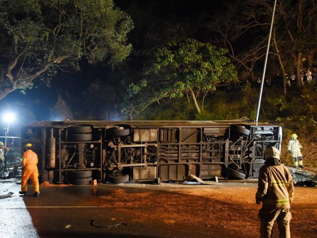 香港巴士惨痛车祸 让习近平都来哀悼了