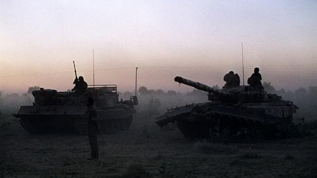 冷战后最大冲突!美战机炸毁俄罗斯坦克