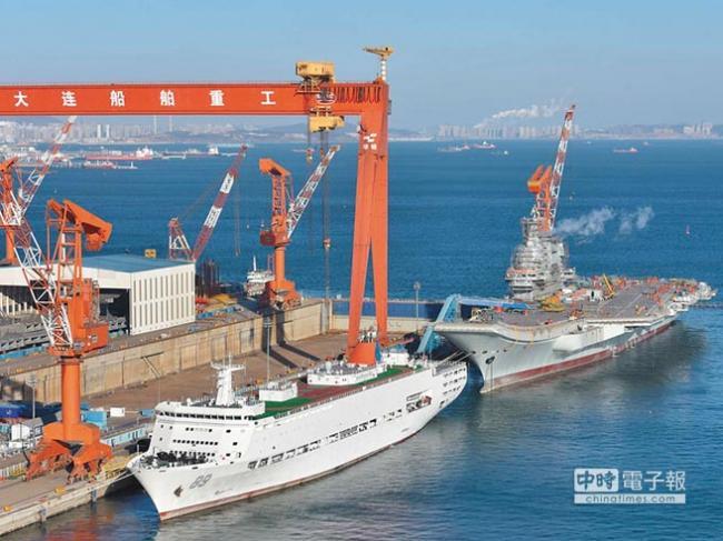 中国自制航母002舰 即将海试