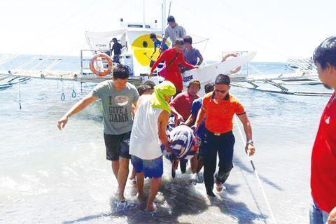 中国游客意外遭螺旋桨击中  当场身亡