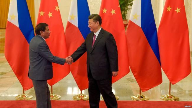 杜特尔特的:把菲律宾变成中国一个省