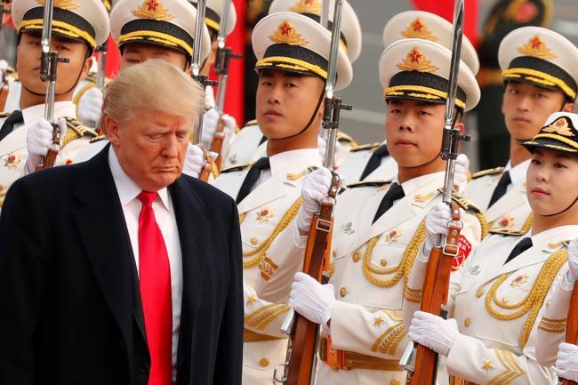 """川普想对北韩实施""""揍鼻子流血""""式打击"""