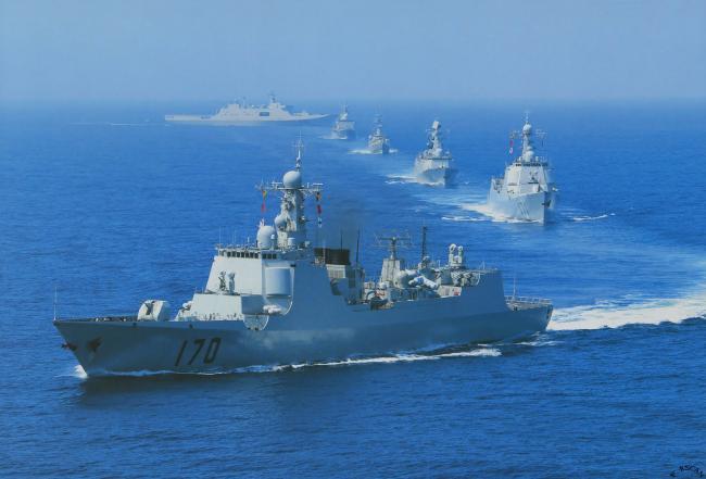 11艘军舰杀入印度洋!中印战火一触即发