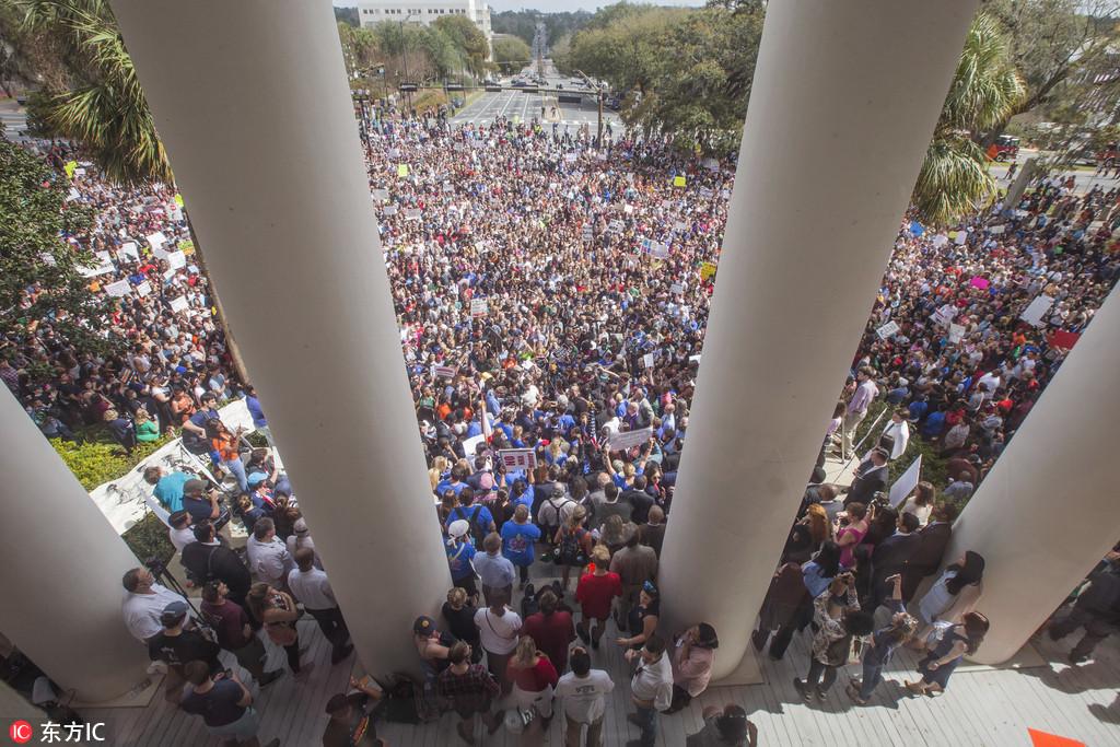 佛州槍案之後 美國的學生們怒了