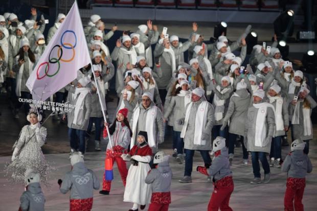 平昌冬奥闭幕式 俄选手仍不得持国旗