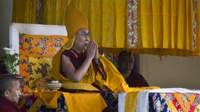 达赖喇嘛重要活动惨被赶出新德里
