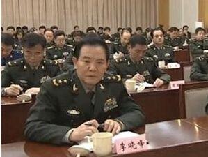 李晓峰中将不再担任中央军委政法委书记