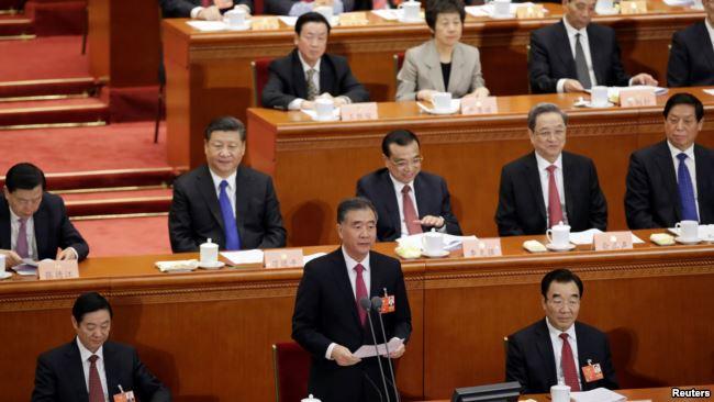 中国政协会议闭幕 新任主席高喊习核心