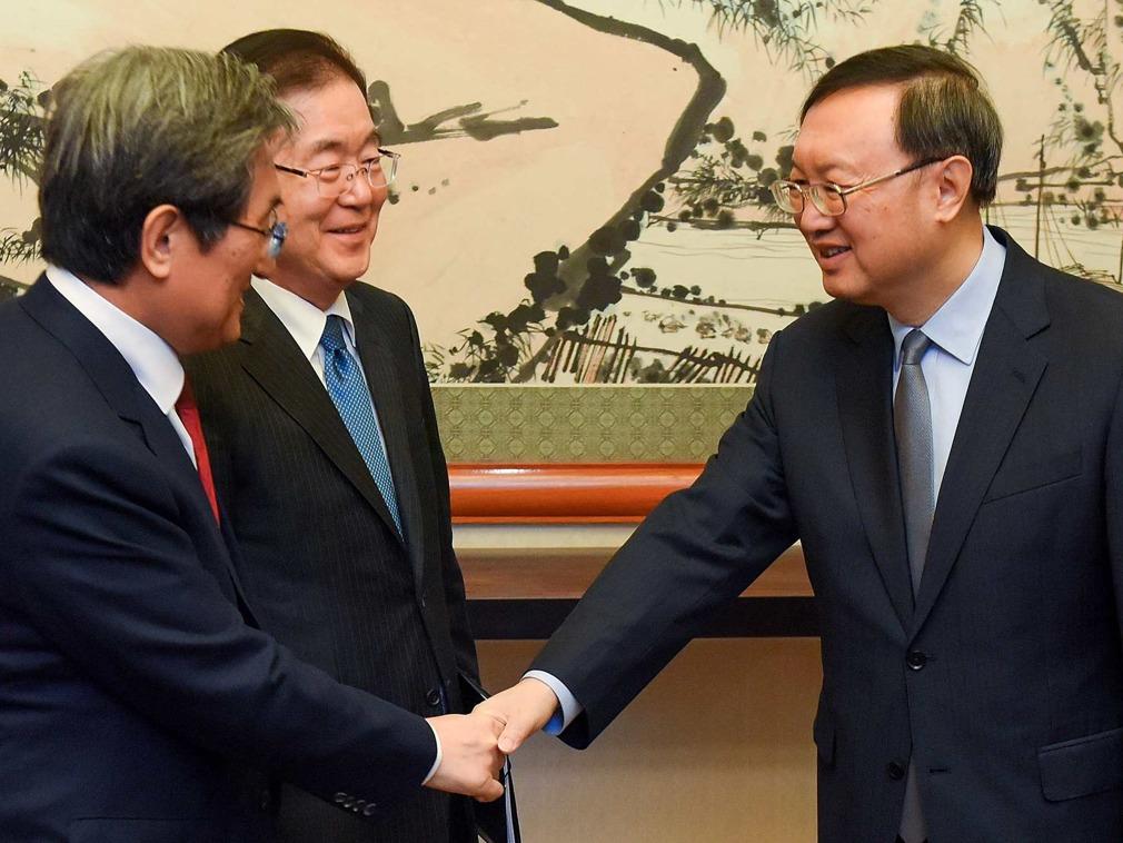 中国内有变化?杨洁篪访韩行程突然推迟