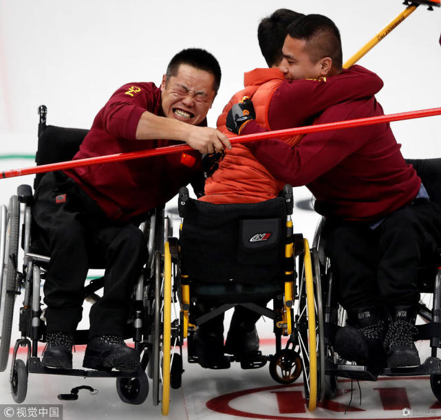 历史首金!平昌冬残奥中国轮椅冰壶夺冠