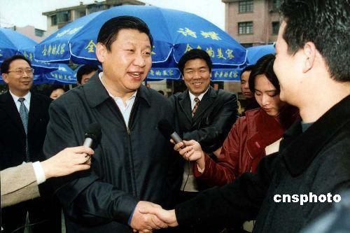 他在上海抱大腿!习手一指 仕途疯狂窜升