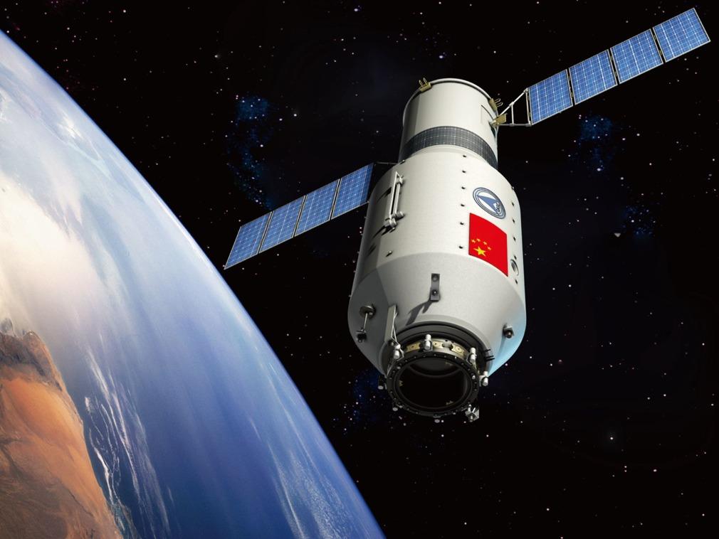 美预测中国天宫一号4月1日将撞地球