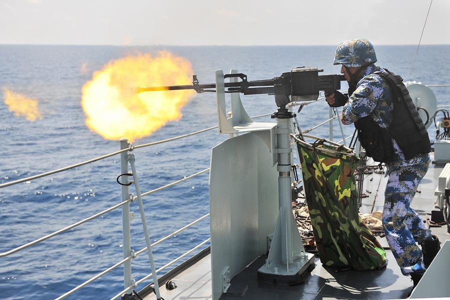 中印海上对峙细节:相距30海里擦枪走火?