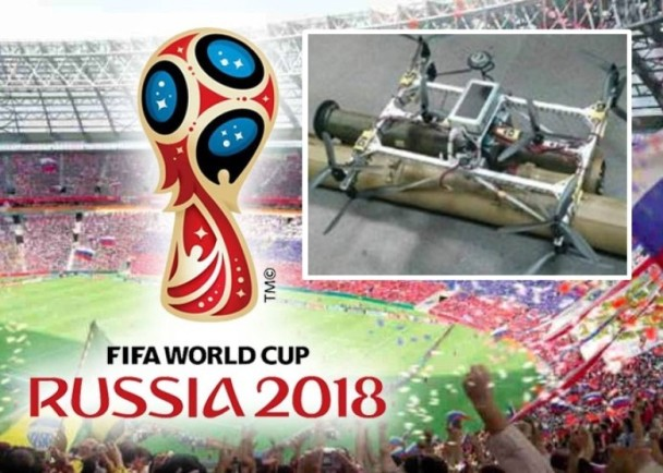 惊!IS改装无人机携炸弹 要血洗俄世界杯