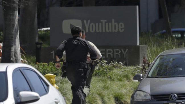 突发!YouTube总部爆枪击 枪手仍在杀人