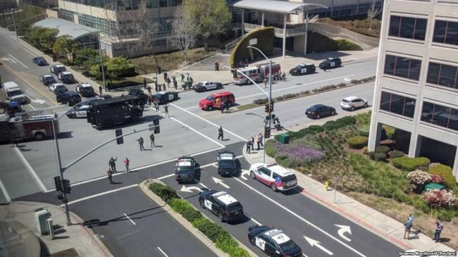 涉嫌在YouTube总部开枪的女子自杀身亡