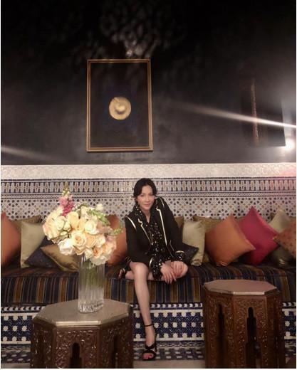 刘嘉玲出国游尽显狂野 细节暴露她的奢华