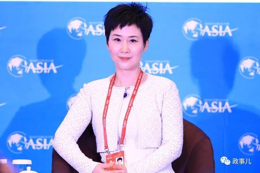 李小琳职务变了 以新身份出席博鳌论坛