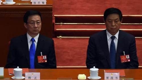 传韩正掌港澳事务 史上最弱 多人争权
