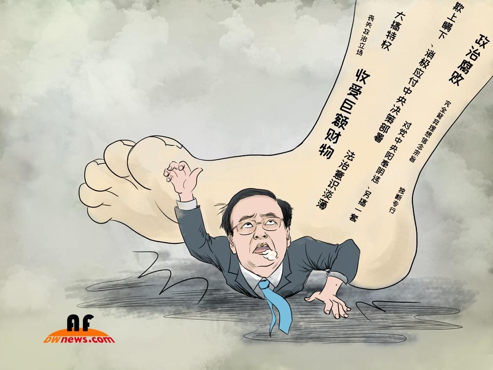 """天津审中共多位""""老虎"""" 孙政才情况罕见"""