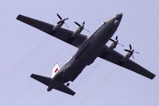 中国军机疑似停上了美济礁!菲律宾炸锅