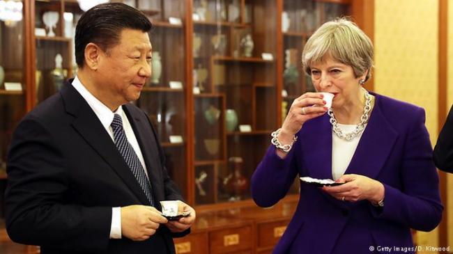 刚刚 习近平与英国土耳其领导人分别通话