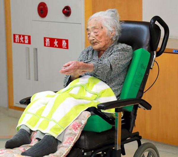 世界最长寿老人在日本去世 享年117岁