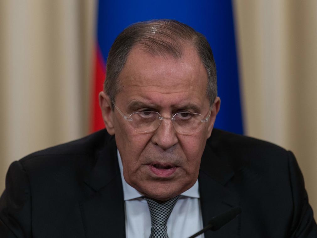 俄外长将访华 伤谈重大政治事件