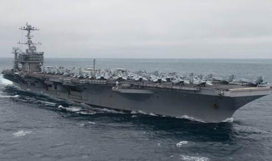 气氛!美航母率大批舰队集结叙利亚周边