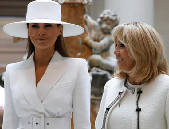 法第一夫人同情川普妻子:她被捆在白宫