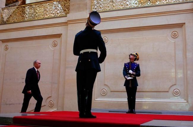 普京将在克里姆林宫举行总统就职典礼