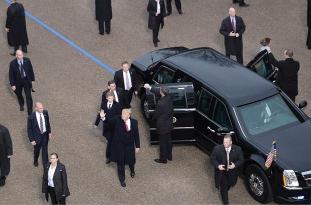 川普也要换新车?普京豪华座驾太炫酷