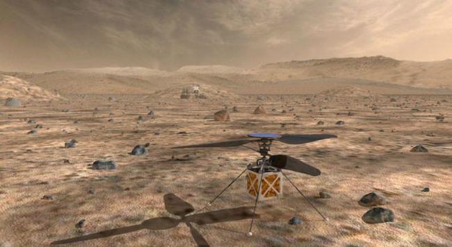 直升机将在火星上飞行