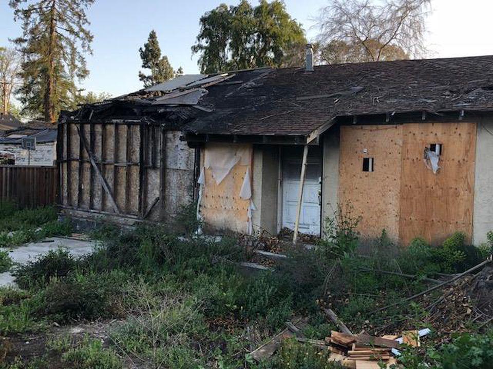 住不起!硅谷焚毁屋 93万8000元成交