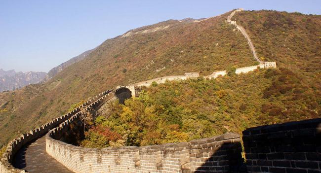 长城的维修   中国将使用无人机