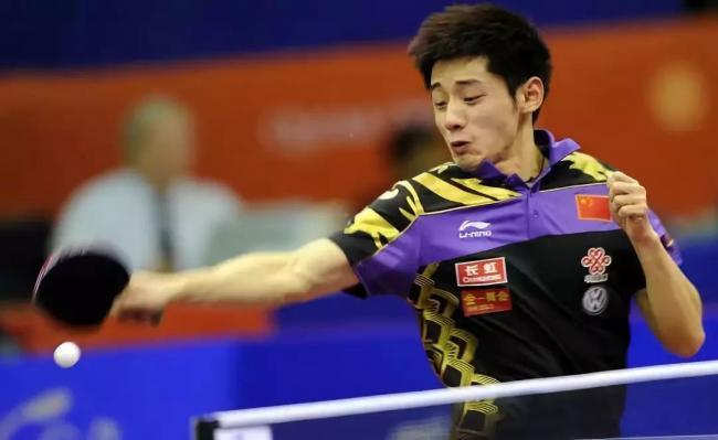 张继科复出受挫 苦战7局不敌日本选手