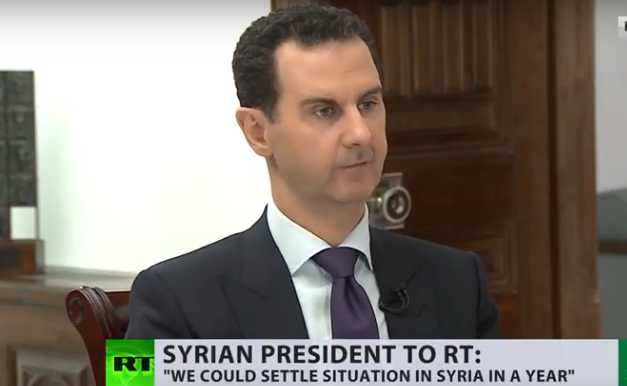 阿萨德愤怒了: 美俄差点在叙利亚打起来