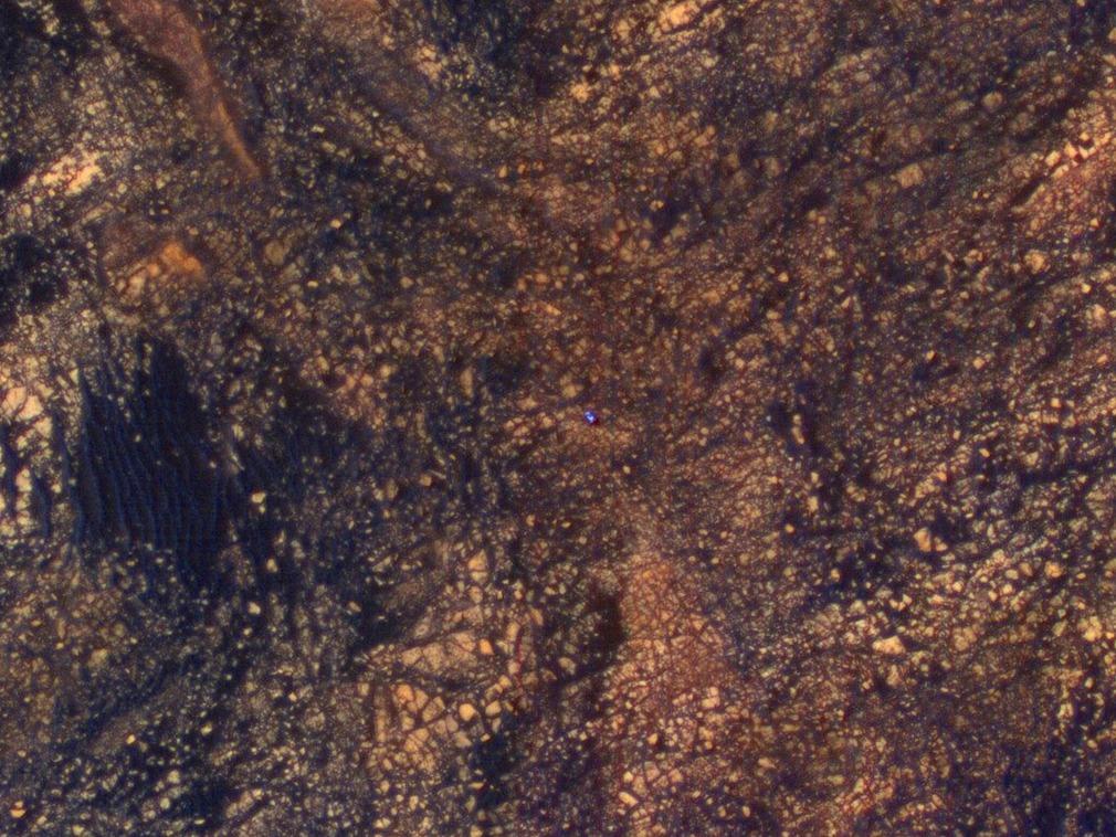 重大突破:NASA在火星发现古代有机物