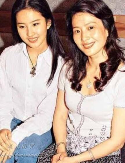 刘亦菲妈妈素颜证件照曝光 气质出众