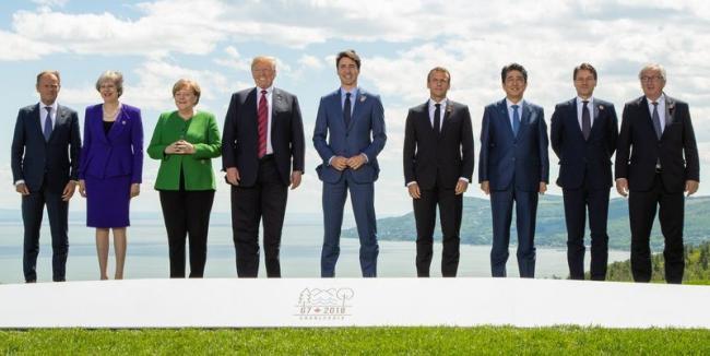 美国痛批加拿大背后插刀  G7 峰会破局