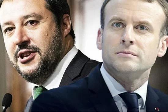 因马克龙一句话 意大利和法国杠上了!