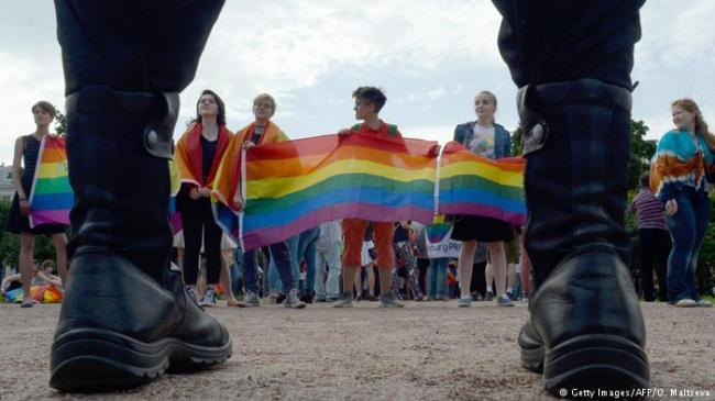 无惧偏见 俄罗斯同性恋用体育发声