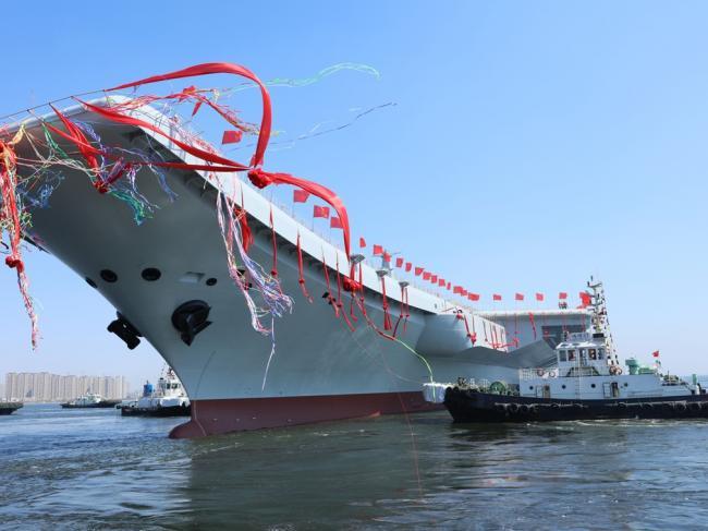 中国第一艘国产航母的质量  可能有问题