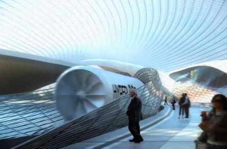 中国超级高铁试验线 时速有望达1500公里